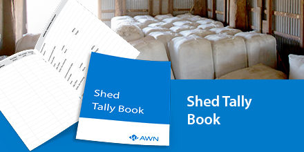Shed Tally Book